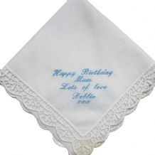 Personalised Handkerchief  Bride/Mother..